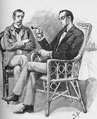 an analysis of the adventures of sherlock holmes The adventure of the speckled band analysis  and of other holmes adventures is the use of the  that sherlock holmes would notice that would make.